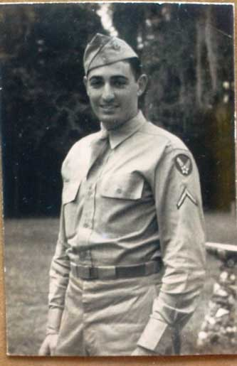 Photo of Herb in Uniform - Dear Mom and Dad