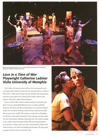 U Memphis MagazineTH - Press