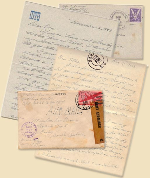Mae's-1943-letter