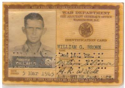 Scrapebook War Dept ID - Letters & Scrapbook