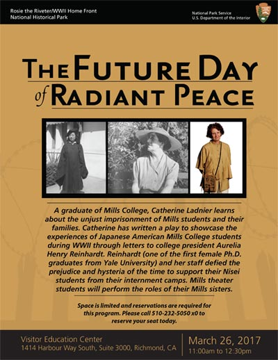 The Future Day of Radiant Peace - Event & Performance Schedule