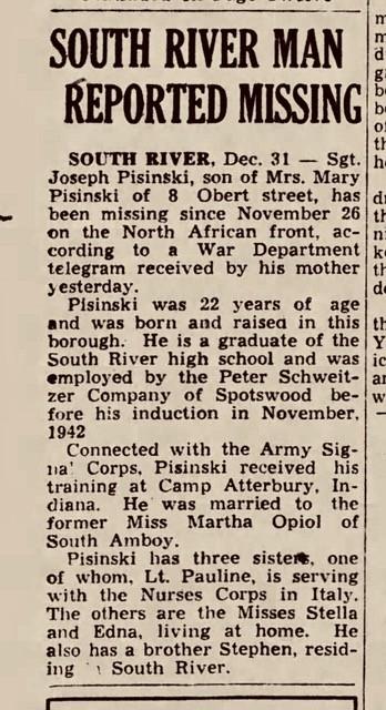 Daily Home News Fri  Dec 31  1943 p1 1 copy - Event & Performance Schedule
