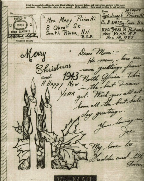 Christmas message from 1943