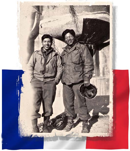 Two Japanese-American Brothers Reunited in France